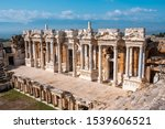Ancient Stage In Ruins Of...