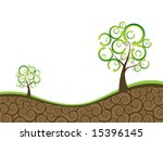 ecology background | Shutterstock .eps vector #15396145