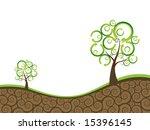 ecology background | Shutterstock .eps vector #15396145
