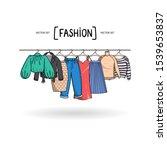 vector illustration with... | Shutterstock .eps vector #1539653837
