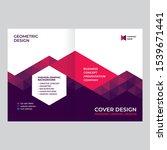 cover design for presentations... | Shutterstock .eps vector #1539671441