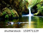 Punch Bowl Falls Is A Waterfal...