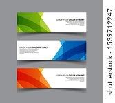 vector abstract design banner...   Shutterstock .eps vector #1539712247
