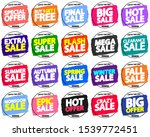 set sale banners design... | Shutterstock .eps vector #1539772451