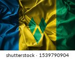 The Flag Of Saint Vincent And...