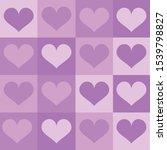 A Modern Purple Heart Pattern...