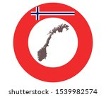 map of norway on background...   Shutterstock .eps vector #1539982574