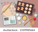 Bakery Background With...