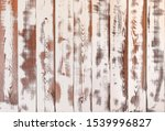 Vintage White Wooden Planks...