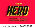comics style font design ...   Shutterstock .eps vector #1540025357