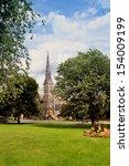 first presbyterian church in... | Shutterstock . vector #154009199