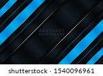 dark black textured layer... | Shutterstock .eps vector #1540096961