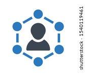 support services vector glyph... | Shutterstock .eps vector #1540119461
