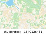 printable street map of sakura  ... | Shutterstock .eps vector #1540126451