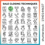 sale closing techniques...