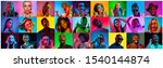 close up portrait of young... | Shutterstock . vector #1540144874