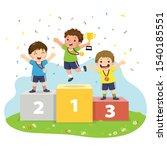 vector illustration of three...   Shutterstock .eps vector #1540185551