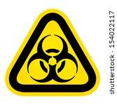 biohazard sign | Shutterstock .eps vector #154022117