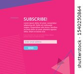 vector email template....