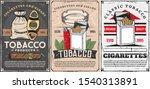 vector smoking shop  cigar... | Shutterstock .eps vector #1540313891