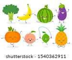 collection with different funny ... | Shutterstock .eps vector #1540362911
