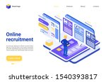 online recruitment landing page ...