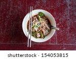 noodle pig | Shutterstock . vector #154053815