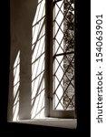 light passes through a church... | Shutterstock . vector #154063901