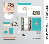 vector templates. geometric... | Shutterstock .eps vector #154069331