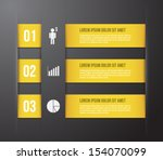 abstract template banner with... | Shutterstock .eps vector #154070099