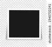 vector photo frame mockup... | Shutterstock .eps vector #1540732241