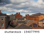 The Roofs In York In England A...