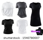 clothing. t shirts  hoodie ... | Shutterstock .eps vector #1540780007