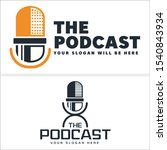 The Podcast Logo With...