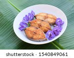 Stock photo king mackerel fried indo pacific king mackerels spotted mackerels fish fried scomberomorus fried 1540849061