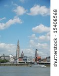 Skyline Of Antwerp  Belgium