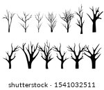 collection of trunks. trees... | Shutterstock .eps vector #1541032511