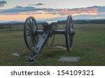 Artillery At Gettysburg Lookin...