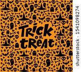 trick or treat halloween... | Shutterstock .eps vector #1541098274