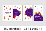 autumn banner template for... | Shutterstock .eps vector #1541148344