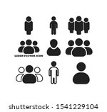 businessman vector icon style... | Shutterstock .eps vector #1541229104