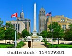 niagara square in downtown... | Shutterstock . vector #154129301