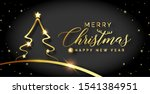 christmas background merry... | Shutterstock . vector #1541384951