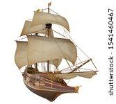 3d Model Of Historic Ship...