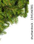 christmas green framework... | Shutterstock . vector #154146581
