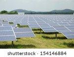 solar energy panels on a big... | Shutterstock . vector #154146884