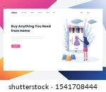 e commerce buyer. internet...   Shutterstock .eps vector #1541708444