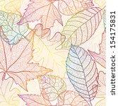 Autumn Transparent Maple Leave...