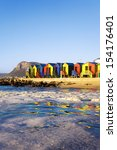 st james beach with colourful... | Shutterstock . vector #154176401