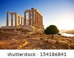 Greece. Cape Sounion   Ruins O...